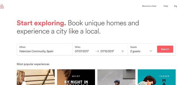 airbnb destinatii de vacanta ieftine spania