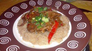 Reteta simpla si rapida de Taitei de Orez cu Carne de Vita. Mancare in stil asiatic