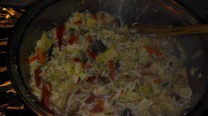orez basmati cu legume trase in unt