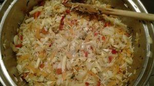 orez cu legume trase in unt