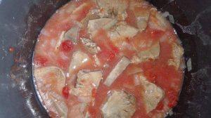 preparare limba de porc cu masline