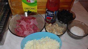 ingrediente pizza facuta in casa