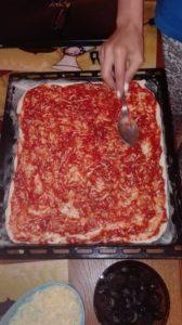 sos de pizza